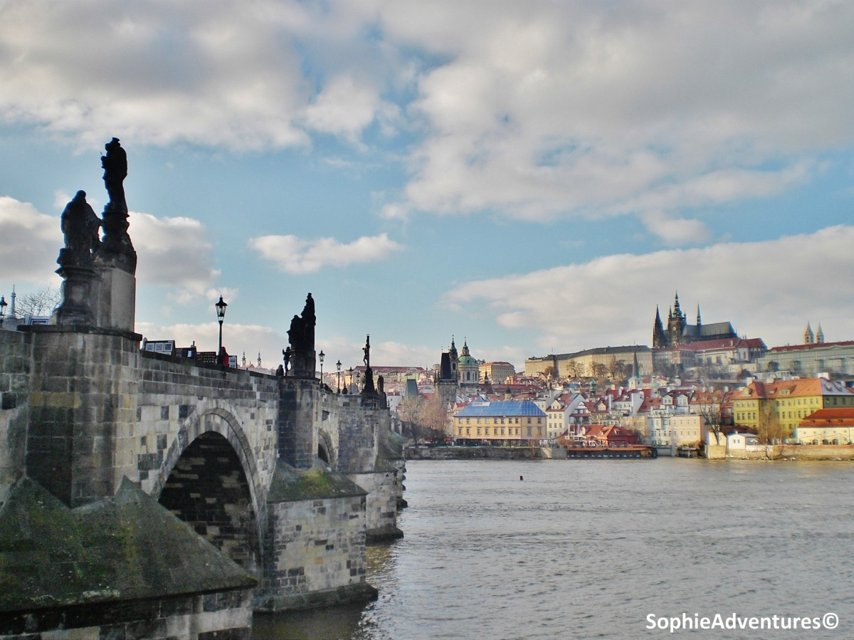 Around Charles' Bridge in Prague - Czech Republic